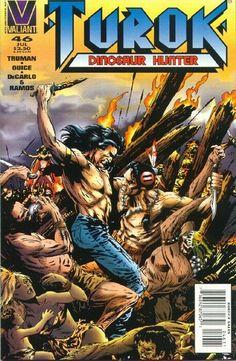Cover for Turok, Dinosaur Hunter (Acclaim / Valiant, 1993 series) #46