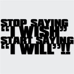 Deco inscription - Stop Saying I H Design, Kare Design, Garden Shop, Logos, Sayings, Learning, Cheer, Freedom, Deco