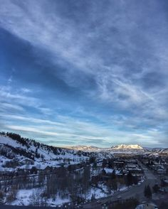 Steamboat Springs this morning #steamboatsprings # #homeofmoots by johnkernickphotography