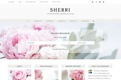 Sherri is a flexible WordPress child theme for the Genesis framework and is full of ways for you to customize your website! Change the color or add a different header image right in the