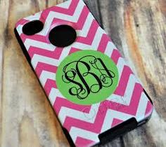 Monogrammed otterbox- just ordered myself one!
