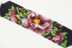 Hey, I found this really awesome Etsy listing at https://www.etsy.com/listing/106196962/seed-bead-bracelet-flower-beadwork