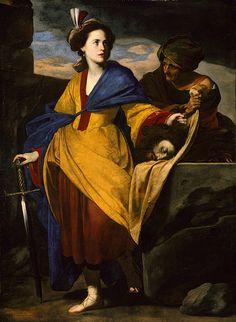 Judith with the Head of Holofernes, ca. 1630–35  Massimo Stanzione (Italian, Neapolitan, 1585–1656)
