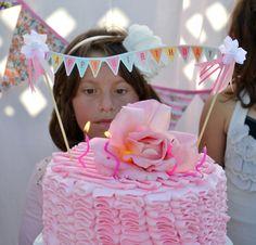 bandeirola no bolo !!!