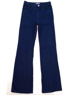 Authentic Acne Jeans Storlek A Pant One Wide Leg Jeans Womens Size 28
