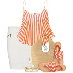 """Very Relaxed in Swell Sandals"" by kiki-bi on Polyvore"