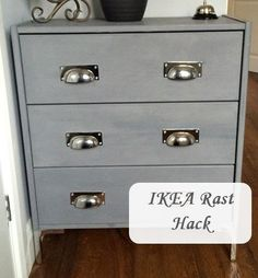 How to cut off the apron of the RAST and add legs