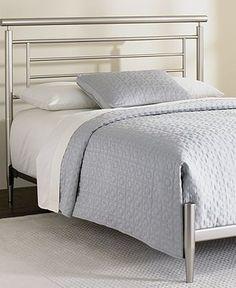 Blythe Satin Metal Bed sale $779