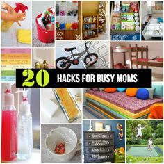 20 Hacks For Busy Moms