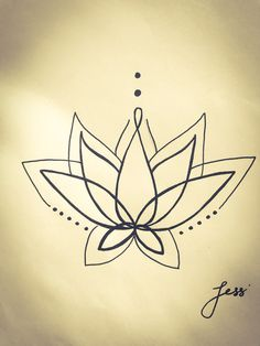 Lotus tattoo idea...