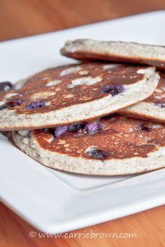Vanilla Blueberry Pancakes_S