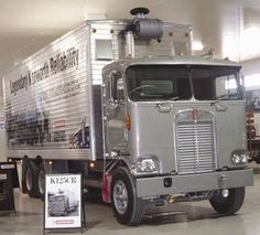 Kenworth Museum | National Road Transport Hall of Fame National Road, Road Transport, Cab Over, Kenworth Trucks, Ford Classic Cars, Diesel Trucks, Vintage Trucks, Big Trucks, Transportation