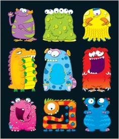 Debbie's Spanish Learning: Monster Stickers {Reviewing Body Parts}