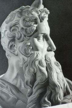 Michelangelo's Moses Close Up