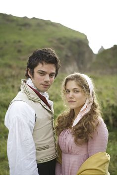 Dominic Cooper and Charity Wakefield in Sense and Sensibility