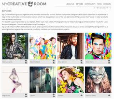 My-creative-Room website #fashion #design #photography