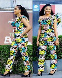 "Items similar to African jumpsuit for women's / women's Ankara jumpsuit /""kitenge jumpsuit / African print wax jumpsuit for women's on Etsy African Print Jumpsuit, Ankara Jumpsuit, African Print Dresses, African Dresses For Women, African Attire, African Wear, African Women, African Prints, Jumpsuit Style"
