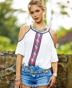 54 mejores imágenes de Blusas Camisetas en 2019  943493350e946
