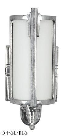 Art Deco Streamline Modern Wall Sconces Lights Lighting Fixtures (34-SL-NES)