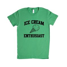 Ice Cream Enthusiast Funny Chocolate Vanilla Dessert Popsicle I Scream Lover Meal Time Kids Family Day Out Park Unisex Adult T Shirt SGAL1 Women's Shirt