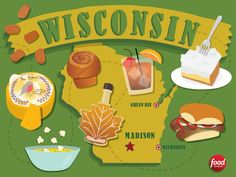 Everybody knows Wisconsin is renowned for its top-notch cheese — but that's not the only food the state is known for. Here's a tally of all the great grub Wisconsin has to offer, plus tips on where to sample the iconic eats.