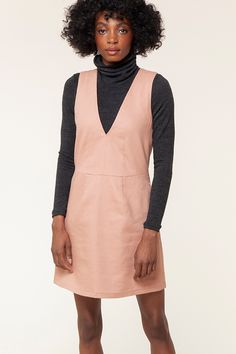 All About the Dani Pinafore Pattern |  Seamwork Magazine