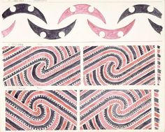 "Godber, Albert Percy, 1876-1949 :[Drawings of Maori rafter patterns]. 10. 13W. MA13. ""Ngutukaka""; 11. 19W. MA19. ""Maui""; and, 12. 20W. MA20. ""Maui"". [1939-1947]."