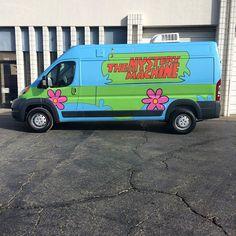 Mystery Van Wrap