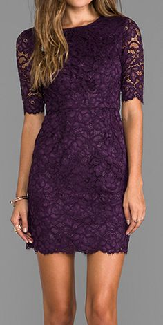 Plum lace -morado perfecto-