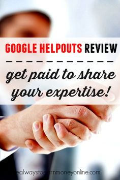 Do you consider yourself an expert on any subject? Google has a neat new service called Helpouts where you can get paid to share your expertise live with others.