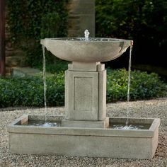 Materials used in making fountains in those days .For more information visit on this website https://www.outdoorartpros.com/collections/modern-outdoor-fountains