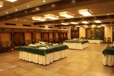 El llagar de Langrehotel es ideal para celebraciones tipo espicha y como salón en el aperitivo de bienvenida de las bodas