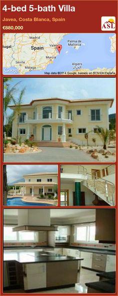 4-bed 5-bath Villa in Javea, Costa Blanca, Spain ►€880,000 #PropertyForSaleInSpain