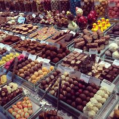 Chocolates @ Mercat de la Boqueria, Barcelona
