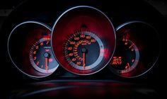 Mazda 3 dials