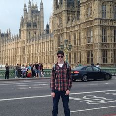 On London Bridge, admiring the British Houses of Parliment. #samueldengel #england #parliment #london #instagood #travel #merchantmarines #londonbridge