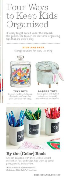 """Plum Print gets a plug in One Kings Lane's Spring Style Guide: """"Preserve your kids' artwork by creating a Plum Print coffee-table book!"""""""