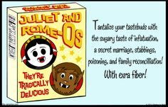 Little Vampires »Juliet and Rome-Os - Shakespeare ads
