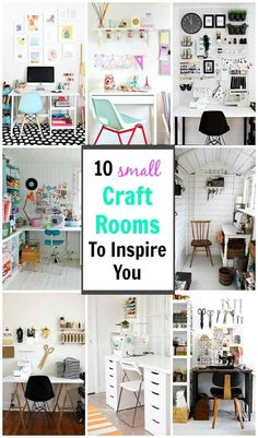 Craft Corner Dreams Looking for some inspiration to create your own little crafting nook? These small craft rooms offer up plenty of ideas on creating a space that is both stylish yet functional - even in the tiniest of spaces! Home Office Organization, Craft Organization, Small Storage Cabinet, Storage Cabinets, Small Craft Rooms, Craft Storage Ideas For Small Spaces, Coin Couture, Craft Room Design, Diy Zimmer