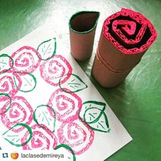 Oh my goodness, how cute is this!!!! We could use this idea to explore spring and decorate a #mothersdaycraft Thx so much for sharing, @laclasedemireya !!! #teachersfollowteachers #maestra #manualidades #manualidadesparaniños #craftingwithkids #craftivity #iteachk #iteachkinder #educacioninfantil #recycledart #earthdaycraft #iteachtoo
