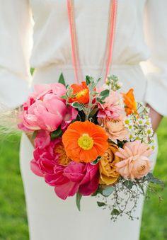 Um bouquet moderno! | Simplesmente Branco