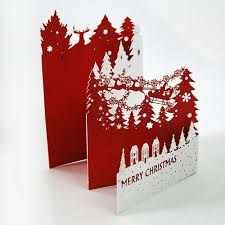 Laser cut 3d pop up christmas greeting cards hg1401 01 find results for laser cut 3d image m4hsunfo