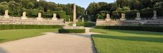 "Italy - Boboli Gardens, Florence...Along your walk, you will discover highlights throughout the gardens, in particular the Amphitheatre, the ""Viottolone""."