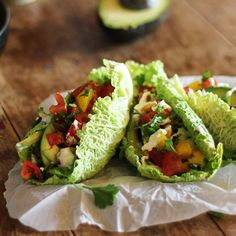 Clean and Fresh Summer Tacos with no cooking required. {raw, vegan, gluten free}