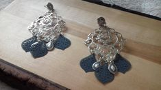 tribal earrings,earrings,boho jewelry,bohemian jewelry,ear climpers,ethnic earrings,vintage jewelry,silver-platted earrings,flower earrings