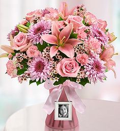 Express yourself perfectly with this hand crafted arrangement of roses