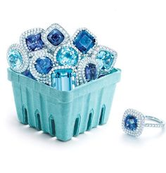 Blue Berry  Tiffany's Statement Jewelry.  August 31st, 2012.