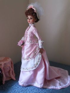Ellowyne-Wilde-Outfit-A-Victorian-Bridesmaids-Ensemble*-with-WIG-SHOES | pollyswardrobe4dolls