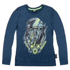 Boys Star Wars Long Sleeve T Shirt