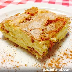 Bizcocho crujiente de plátano con canela para niños Baby Food Recipes, Pie Recipes, Pan Dulce, Pastry Cake, Sweet And Salty, Fondant Cakes, Dessert Bars, Fun Desserts, Food To Make